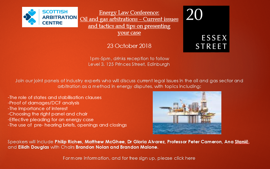 Oil and Gas arbitrations
